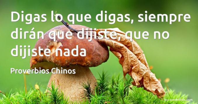 Proverbios Chinos De Superacion poster