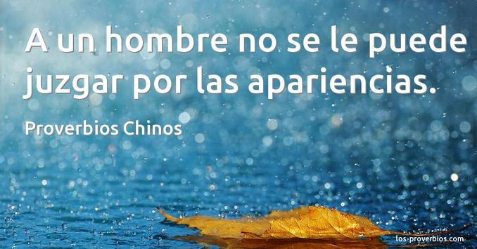 Proverbios Chinos Hablados En Español poster