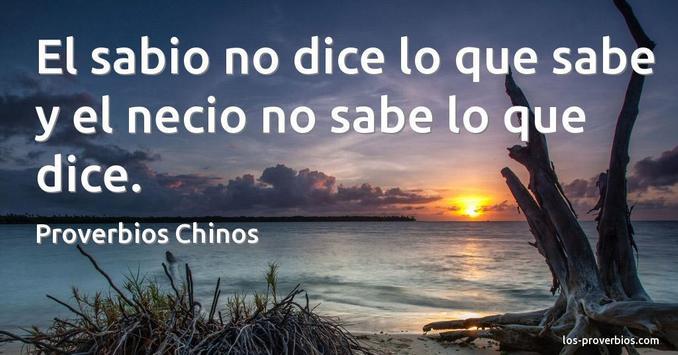 Proverbios Chinos Hablados En Español apk screenshot