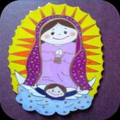 Virgen De Guadalupe Angel icon