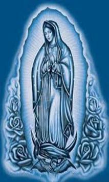 Virgen De Guadalupe Angel poster