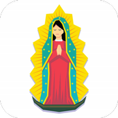 Virgen De Guadalupe Dibujo Facil icon