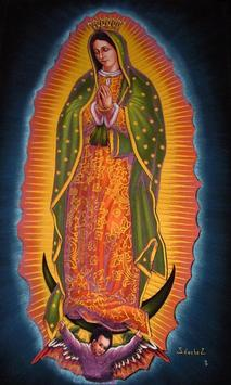 Virgen De Guadalupe Dibujo Facil screenshot 1