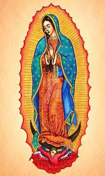 Virgen De Guadalupe Dibujo Hermoso screenshot 3
