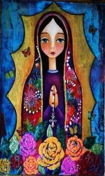 Virgen De Guadalupe Dibujo Hermoso screenshot 1