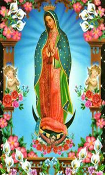 Virgen De Guadalupe Images Cartoon poster
