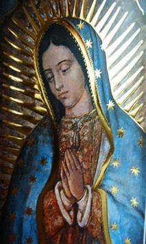 Virgen De Guadalupe Tattoo Design poster