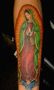 Virgen De Guadalupe Tattoo Design apk screenshot