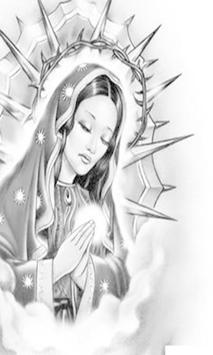 Virgen De Guadalupe Tattoos Black And White apk screenshot