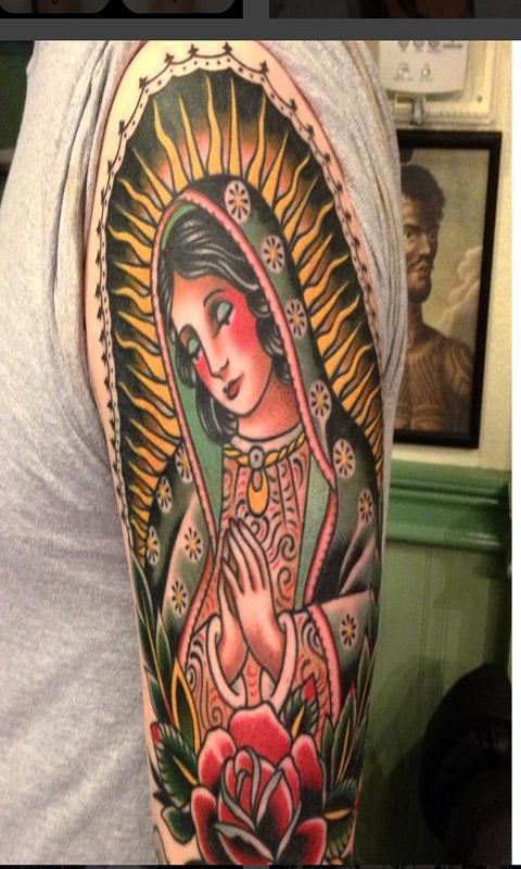 Virgen De Guadalupe Tatuaje For Android Apk Download