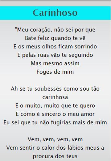 Letra da musica eu encontrei o teu amor