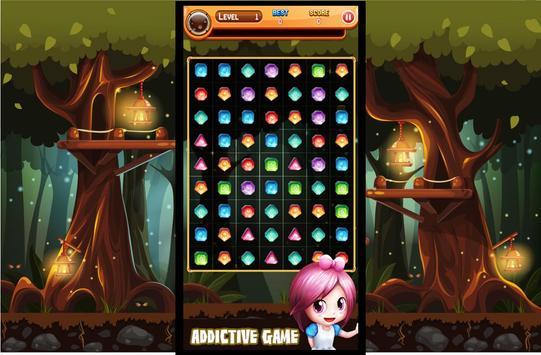 Jewels Crush Match 3 screenshot 1