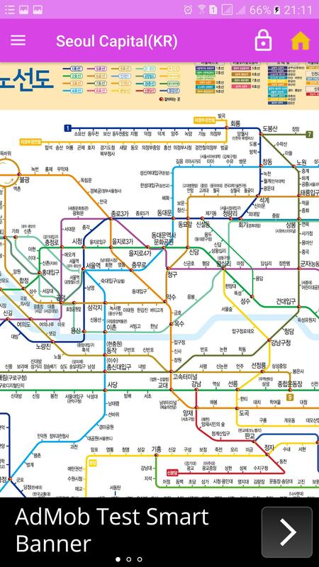 Korea Subway Map For Android Apk Download