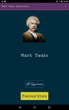 Mark Twain Quotations-Loved it poster