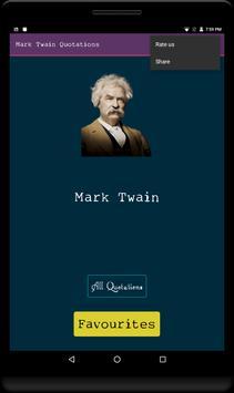 Mark Twain Quotations-Loved it screenshot 3