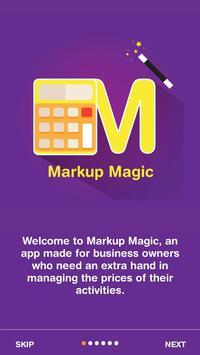 Markup Magic - Profit Margin Calculator Analysis poster