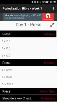 Brodin – 5/3/1 Program Calculator screenshot 3