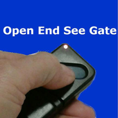 Open End See Gate icon