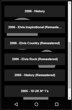 Songs Lyrics Collection of Elvis Presley screenshot 1