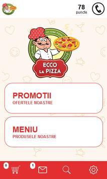 Ecco la Pizza poster