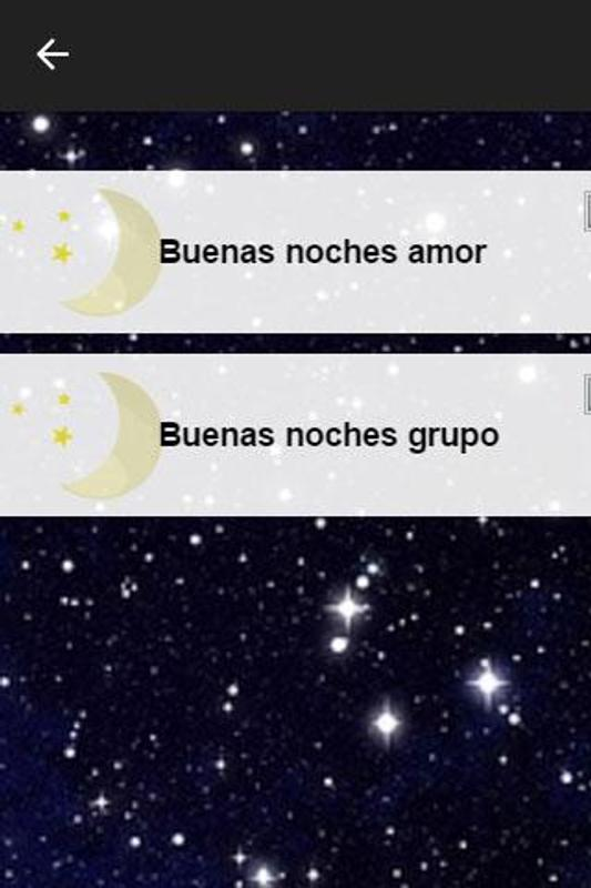 Frases Buenas Noches Grupo Y Amor For Android Apk Download