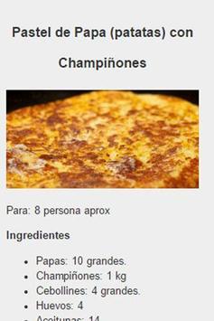 Recetas Vegetarianas Fáciles screenshot 2