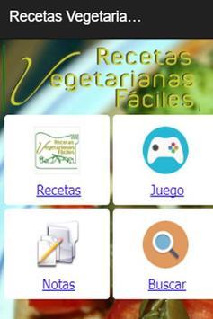 Recetas Vegetarianas Fáciles screenshot 3