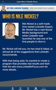 Nile Nickel's LinkedIn Course screenshot 6