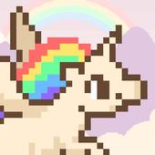 FREE Flappy Unicorn Bird IMPOSSIBLE 😂 HARDEST SIM icon