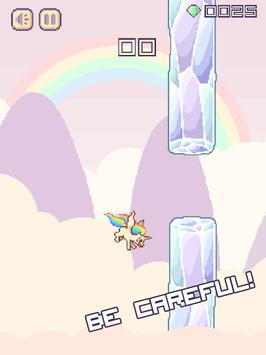 FREE Flappy Unicorn Bird IMPOSSIBLE 😂 HARDEST SIM screenshot 3