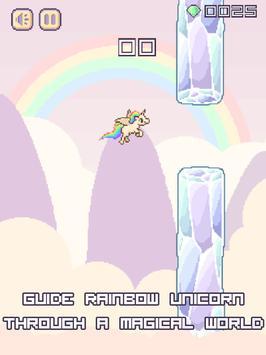 FREE Flappy Unicorn Bird IMPOSSIBLE 😂 HARDEST SIM screenshot 2