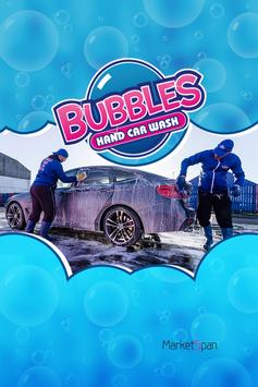 Bubbles Hand Car Wash poster