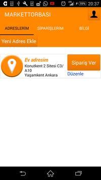 Market Torbası -Online Sipariş screenshot 1
