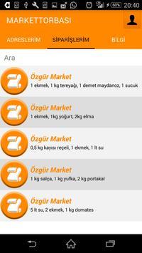Market Torbası -Online Sipariş screenshot 2