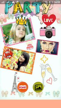 Party Pics Collage Maker poster