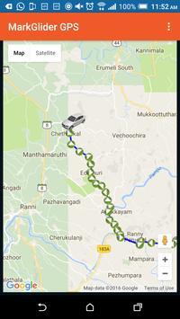 MarkGlider GPS screenshot 1