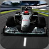 Xtreme car racing simulator icon