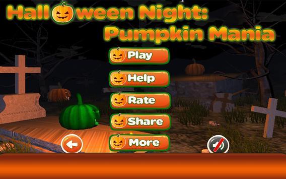Halloween Night Pumpkin Mania poster