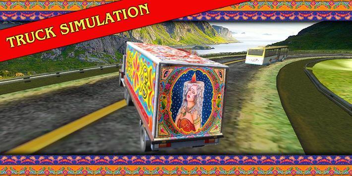 PK Cargo Truck Transporter apk screenshot