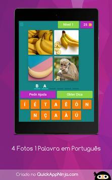 4 Fotos 1 Palavra em Português screenshot 14