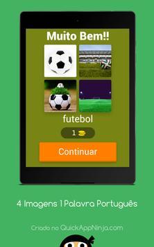 4 Imagens 1 Palavra Português screenshot 8