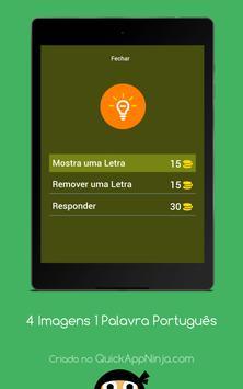 4 Imagens 1 Palavra Português screenshot 12