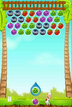 Fruit Bubble Upien Fun screenshot 1
