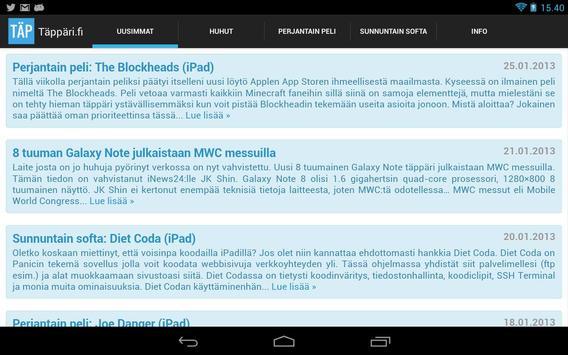 Täppäri.fi apk screenshot