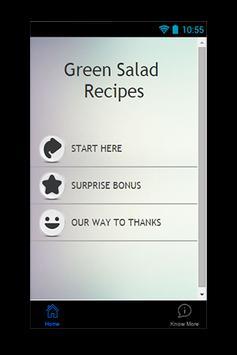 Green Salad Recipes poster