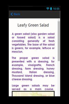 Green Salad Recipes apk screenshot