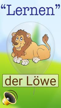 German Learning For Kids poster
