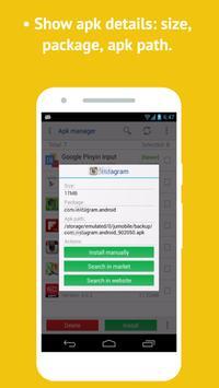 APK Files Manager screenshot 2