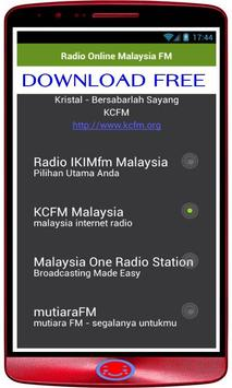 Radio Online Malaysia: FM Radio + Radio Online poster
