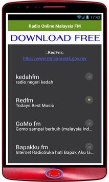 Radio Online Malaysia: FM Radio + Radio Online screenshot 1